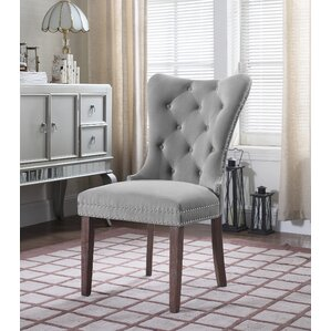ratchford upholstered dining chair set of 2