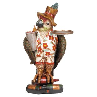 Raphael Décor Large Parrot Waiter Side Table