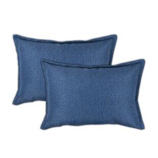 Seaside Boudoir Outdoor Lumbar Pillow (Set of 2)