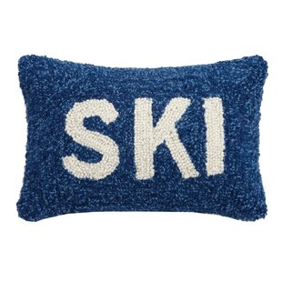 Wyche Ski Hook Wool Lumbar Pillow