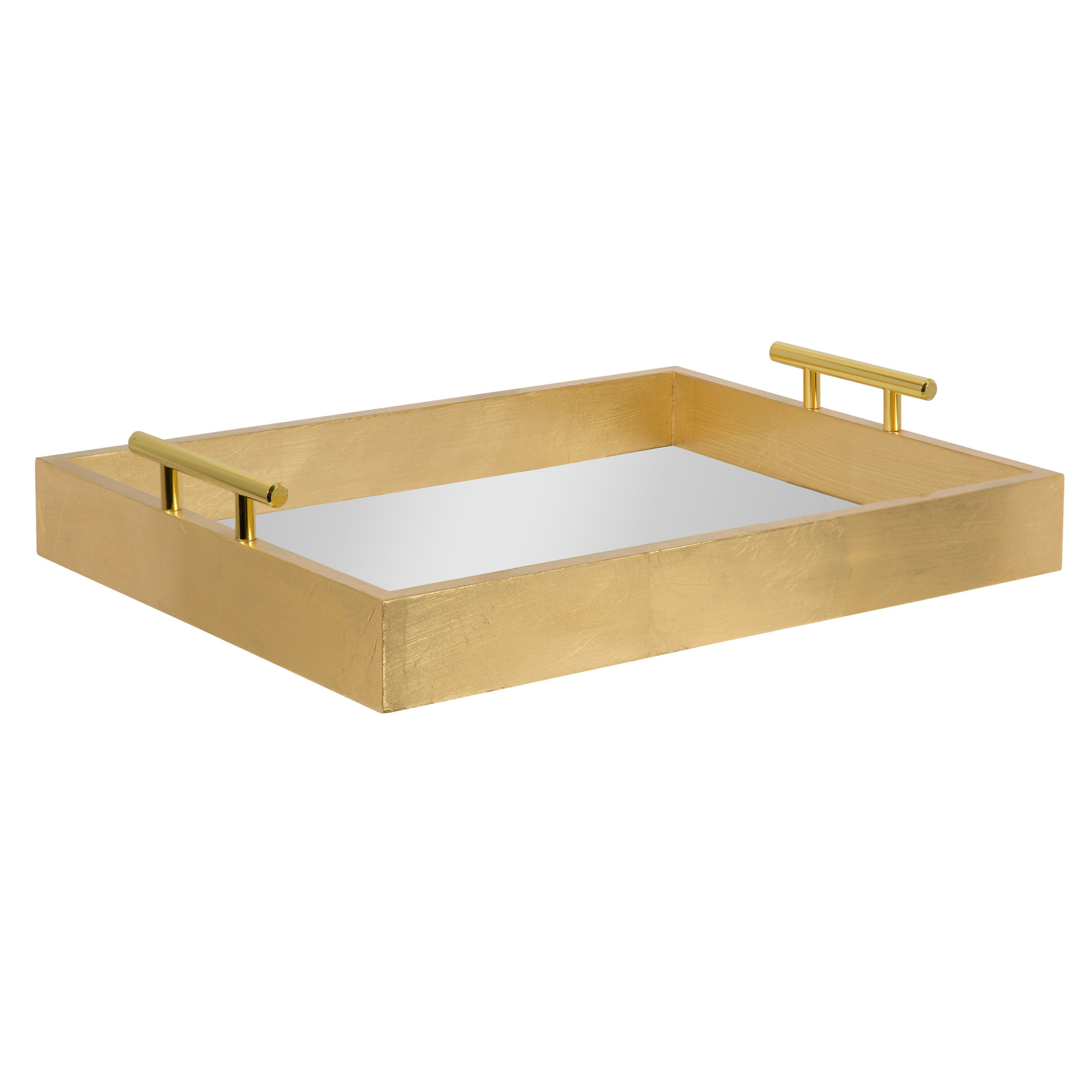 Gold Decorative Trays You Ll Love In 2021 Wayfair