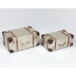 Rieger 2 Piece Trunk Set by Williston Forge