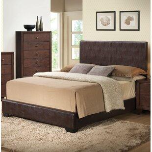 Oge Upholstered Panel Bed by Winston Porter