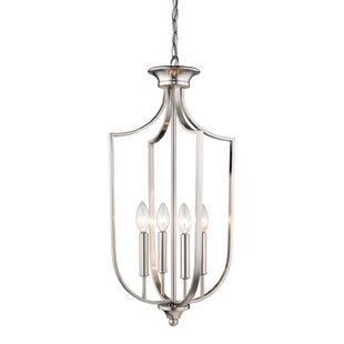 House of Hampton Sir 4-Light Lantern Chandelier