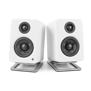 Desktop 13 Fixed Height Speaker Stand Set of 2 by Kanto
