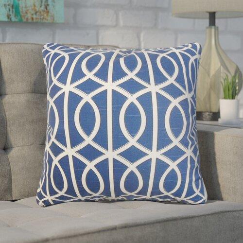 Brayden Studio Nusbaum Geometric Cotton Throw Pillow Wayfair