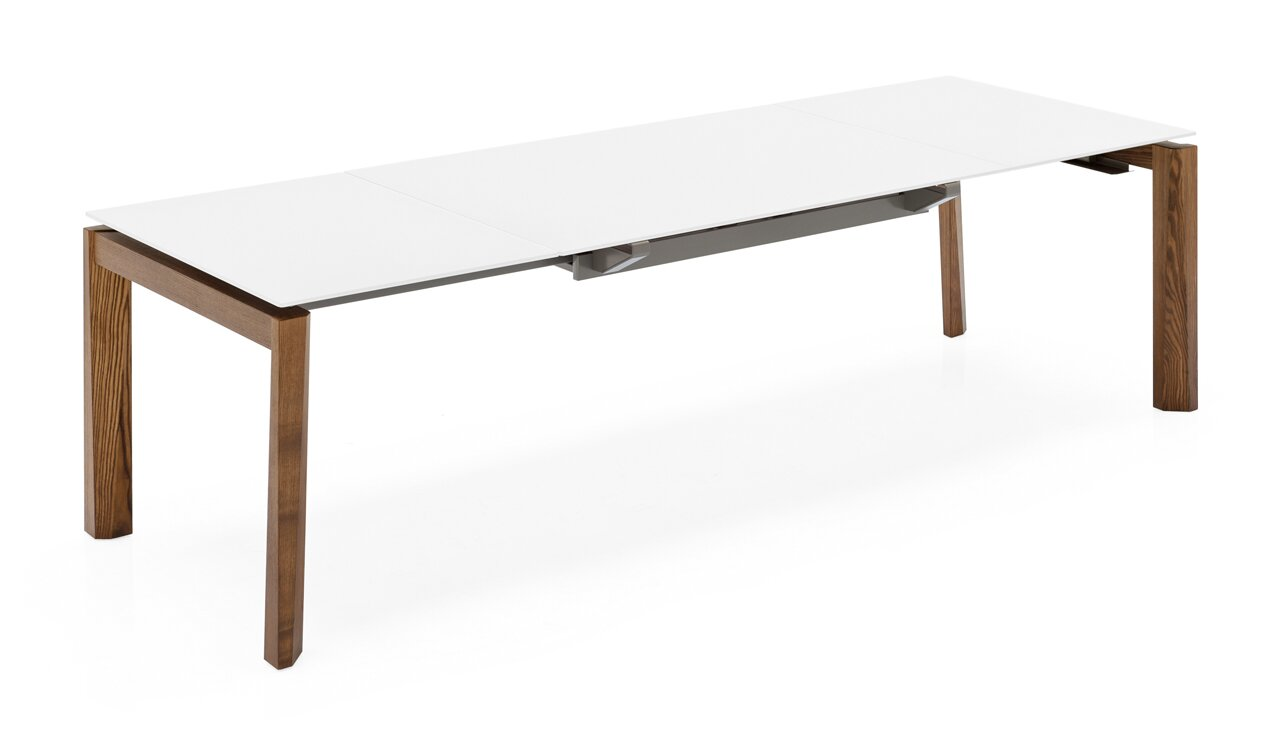 Esteso Wood   Extending Table