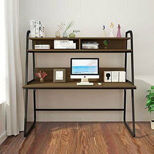Union Rustic Elodie Secretary Desk with H..