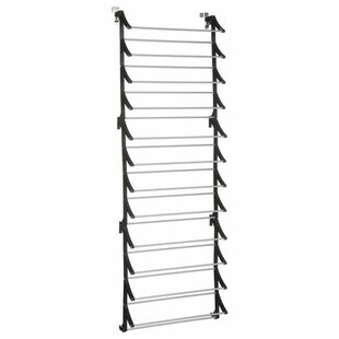 Shoe Rack - Metal And Plastic - 36 Pairs - Special Door By Rebrilliant