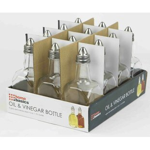 Oil and Vinegar Condiment Set (Set of 4)