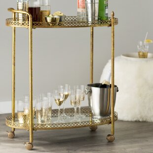 Timberlake Bar Cart by Mistana