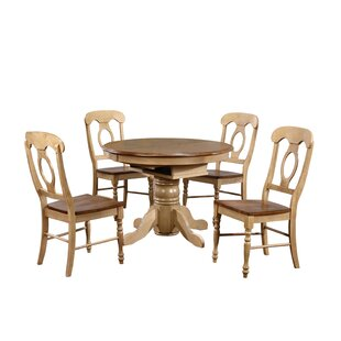 Huerfano Valley 5 Piece Dining Set Loon Peak