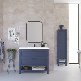 Gambill 1010mm Free-standing Single Vanity Unit By Ebern Designs