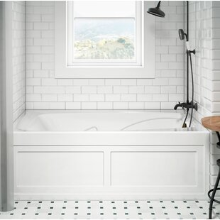 Cetra Pure Left-Hand 60 x 36 Skirted Air Bathtub by Jacuzzi®
