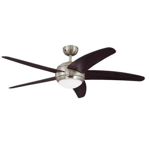 Latitude Run 132cm Trinity 5 Blade Ceiling Fan With Remote Reviews Wayfair Co Uk