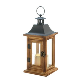 Classical Square Wood Lantern