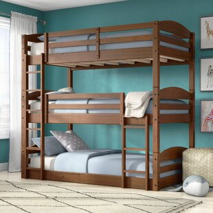 Moorcroft Twin Over Twin Over Twin Bed Triple