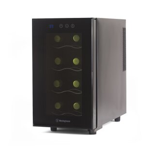 Westinghouse 8 Bottle Thermal Electric Single Zone Freestanding Wine Cooler