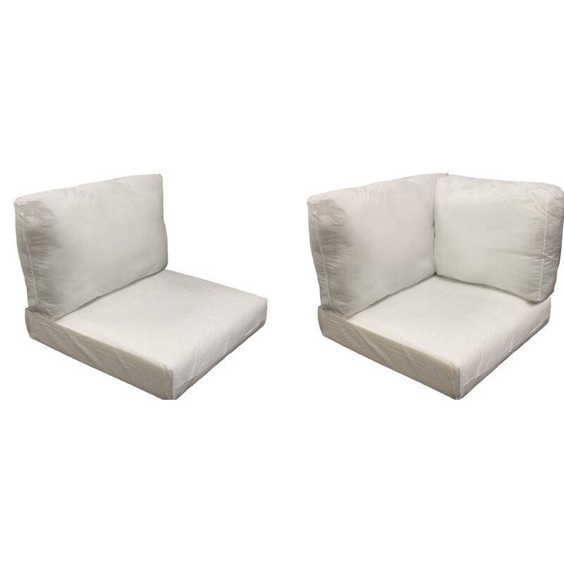 Sol 72 Outdoor 13 Piece Indoor Outdoor Replacement Cushion Set Wayfair