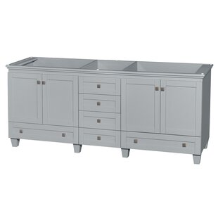 Searching for Acclaim 80 Double Bathroom Vanity Base Only ByWyndham Collection