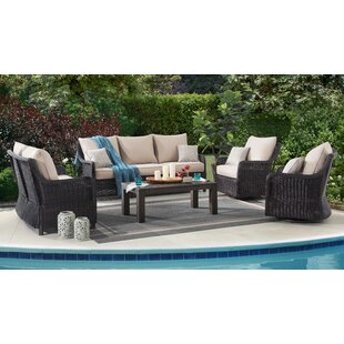 Macri 5 Piece Sofa Set with Cushions