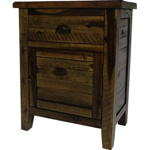 Arviso 1 Drawer Nightstand by Loon Peak