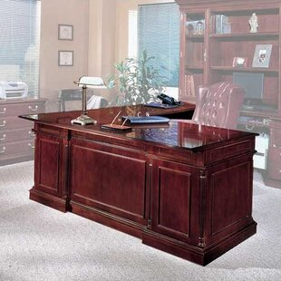 Affordable Price Flannagan L-Shape Left Return Executive Desk By Three Posts