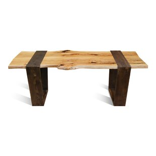 Mira Solid Wood Dining Table Loon Peak