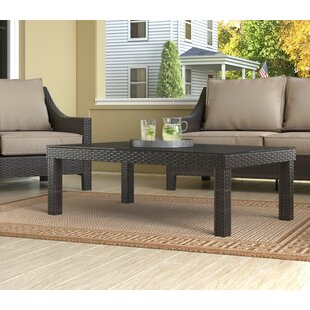 Tahoe Outdoor Wicker Coffee Table