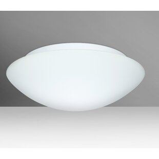 Besa Lighting Nova 3-Light LED Outdoor Flush Mount