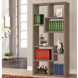 Dabney Multiple Rectangular Geometric Bookcase