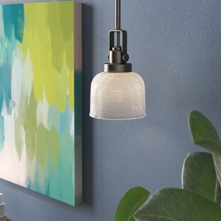 Comparison Gotha 1-Light Mini Pendant By Beachcrest Home