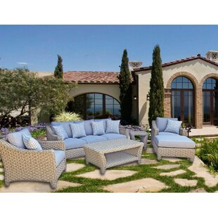 Galen 6 Piece Sofa Set with Cushions