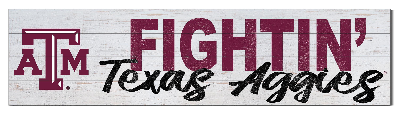 Texas Aggies Texas A/&M Aggies Welcome to our Aggie Home maroon mason jar  10 Wall Hanger