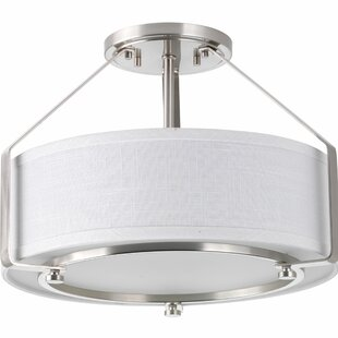 Latitude Run Richardson 3-Light Flush Mount