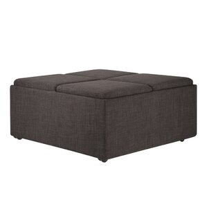 Dark Gray Ottoman Wayfair