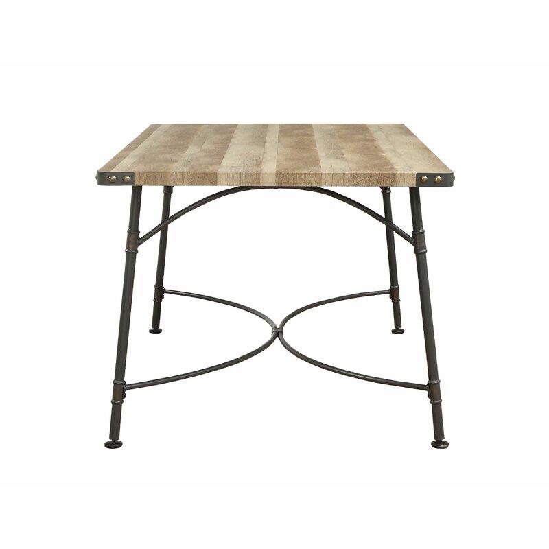 Union Rustic Gunilla Dining Table Wayfair