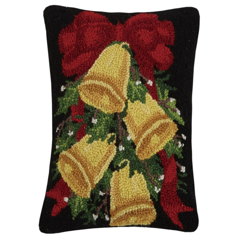 The Holiday Aisle Sandrina Rectangular Wool Pillow Cover And Insert Wayfair