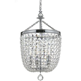 House of Hampton Sargent 5-Light Crystal Chandelier