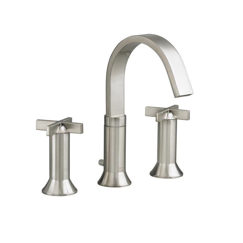 Bathroom Faucet Widespread american standard berwick widespread bathroom faucet with double