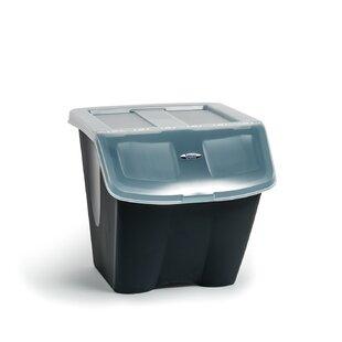 Shutter 38 Liter Plastic Storage Tote  sc 1 st  Wayfair & Plastic Storage Bins u0026 Totes Youu0027ll Love | Wayfair
