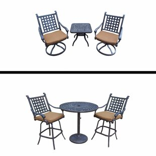 Darby Home Co Arness 6 Piece Bar Height Dining Set