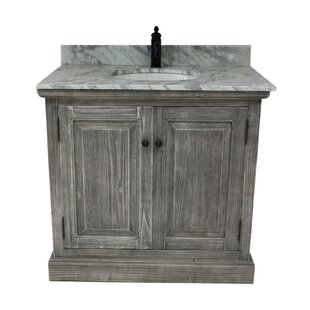 Loon Peak Rundey Single Bathroom Vanity Set