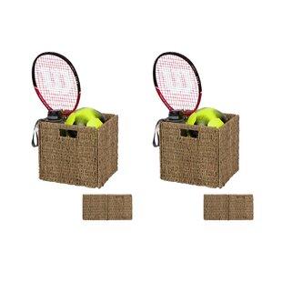 Deals Wicker Basket (Set of 2) ByBay Isle Home