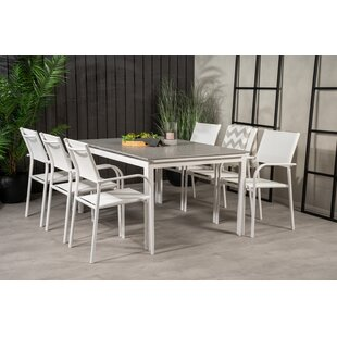 Faiyaz 6 Seater Dining Set By Sol 72 Outdoor