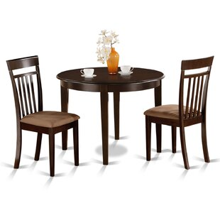 East West Furniture Bosca 3 Piece Dining Set