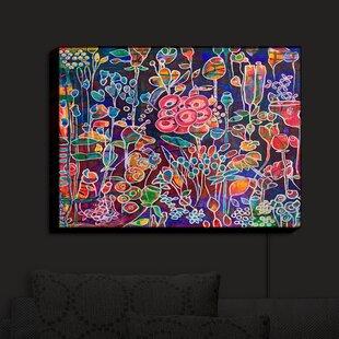 Latitude Run Night Bloom' Print on Fabric