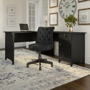 Broadview Desk and Chair Set by Three Posts