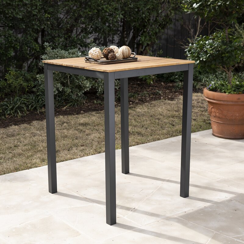 Anthea Solid Wood Bar Table