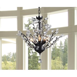 Warehouse of Tiffany Aria 5-Light Candle Style Chandelier